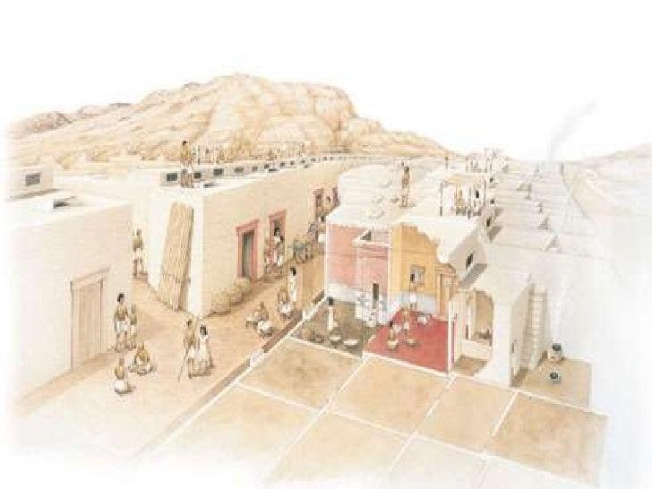 Ancient egypt model house