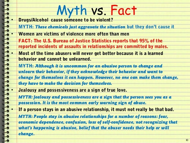 Myths and facts about dating