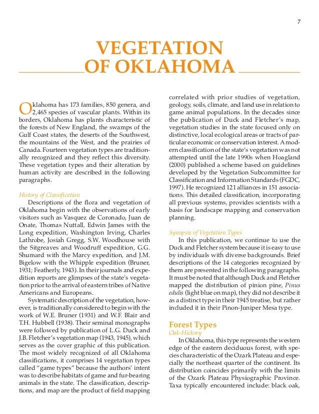 Oklahomas native vegetation types 11 publicscrutiny Image collections