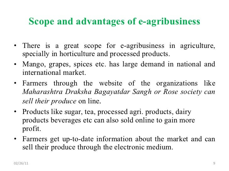 importance of agricultural marketing pdf