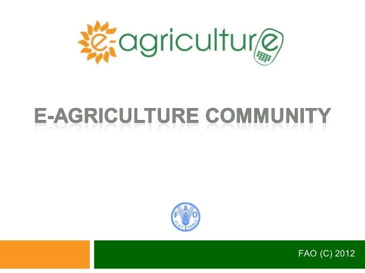 FAO (C) 2012