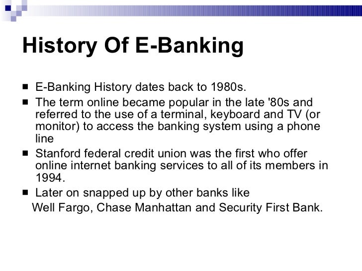 meaning of internet banking system