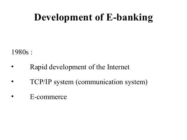 E Banking Service Of Sbi Bank