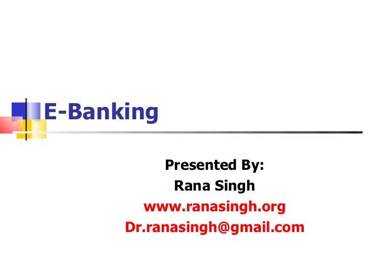DERIVATIVESFinance for Non-Finance Managers                     -Dr. Rana Singh                   www.ranasingh.org       ...
