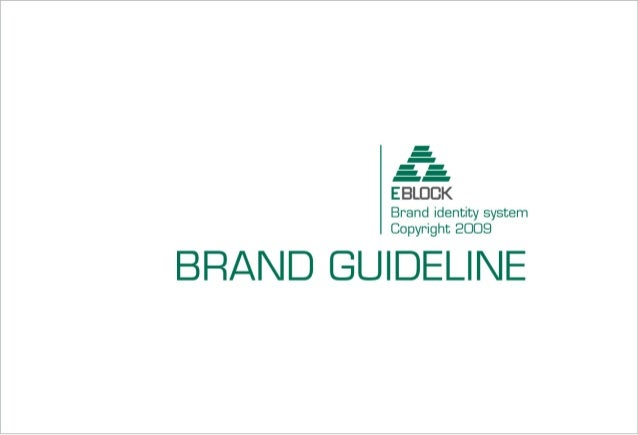 ISC Marketing - Example of Brand Guideline