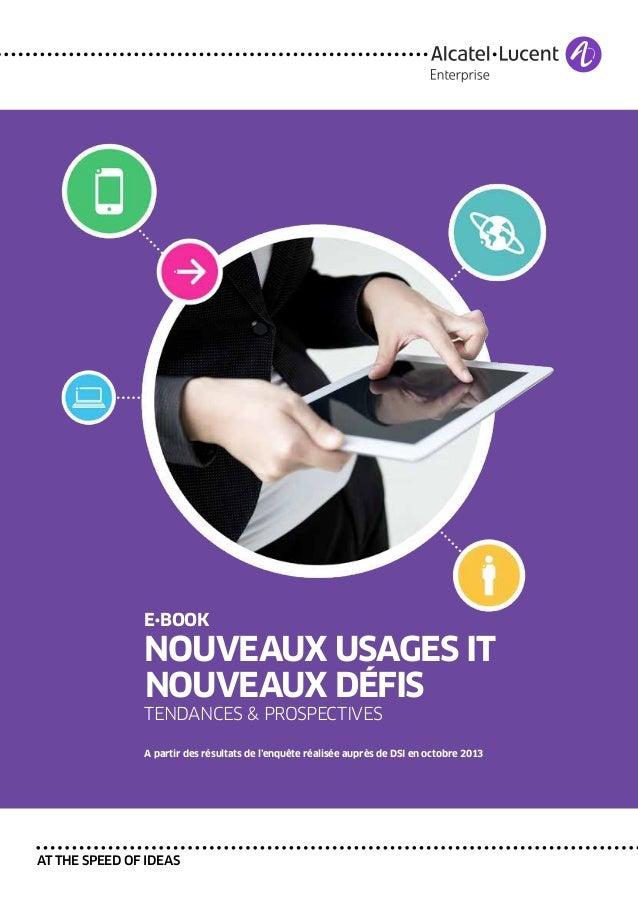 E•book  nouveaux usages it nouveaux défis  tendances & prospectives  A partir des résultats de l'enquête réalisée auprès d...