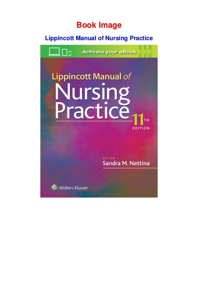 lippincott manual of nursing practice ebook free download