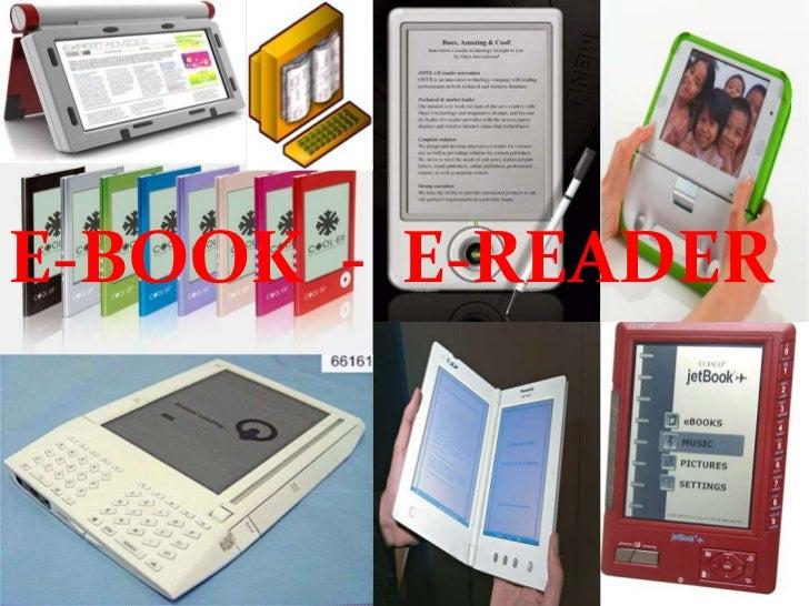 E-BOOK  -  E-READER<br />