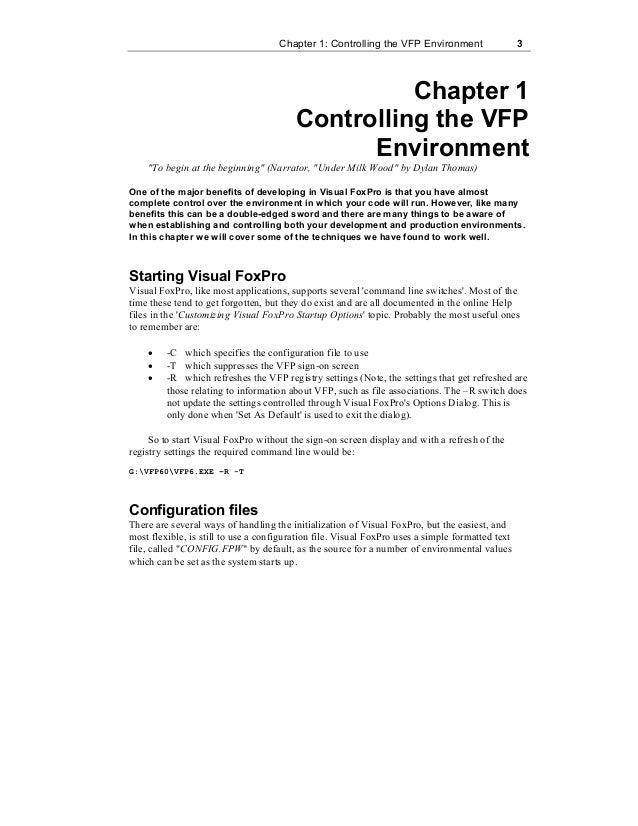 Foxpro Programming Notes Pdf