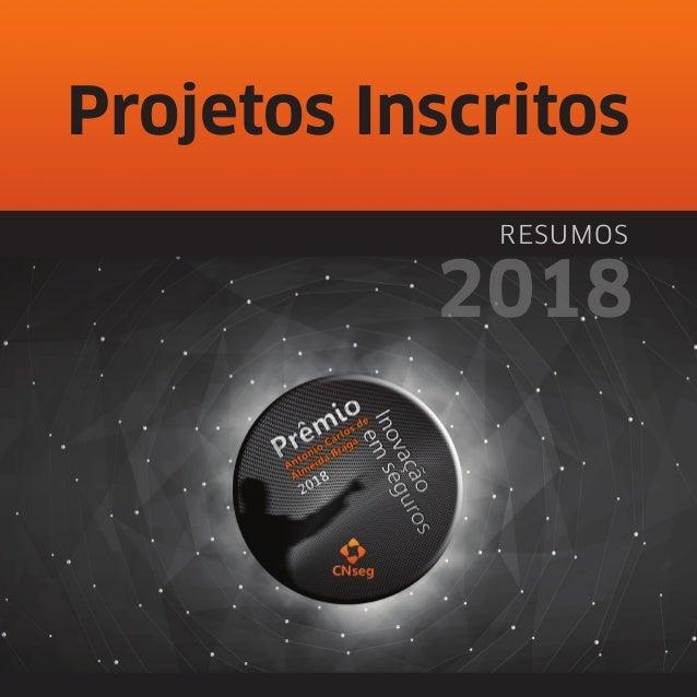 Projetos Inscritos RESUMOS 2018