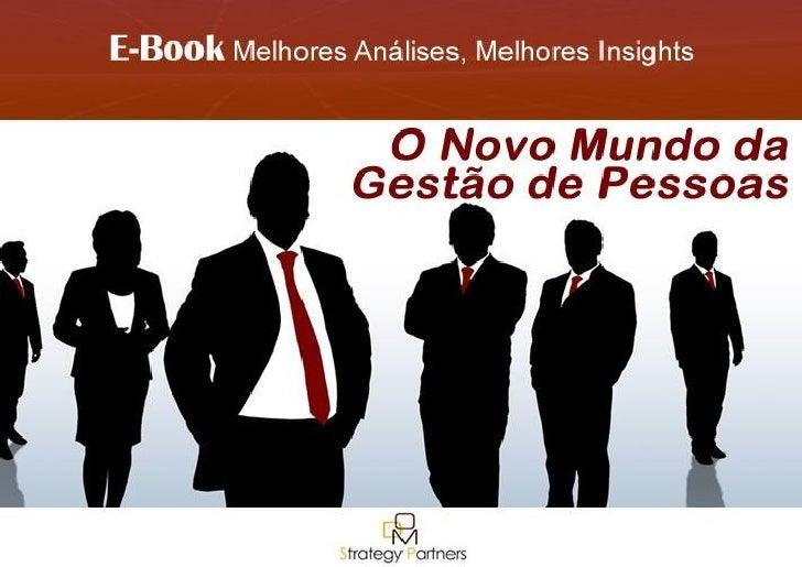 E-Book O Novo Mundo da Gestão de Pessoas DOM Strategy Partners | 1