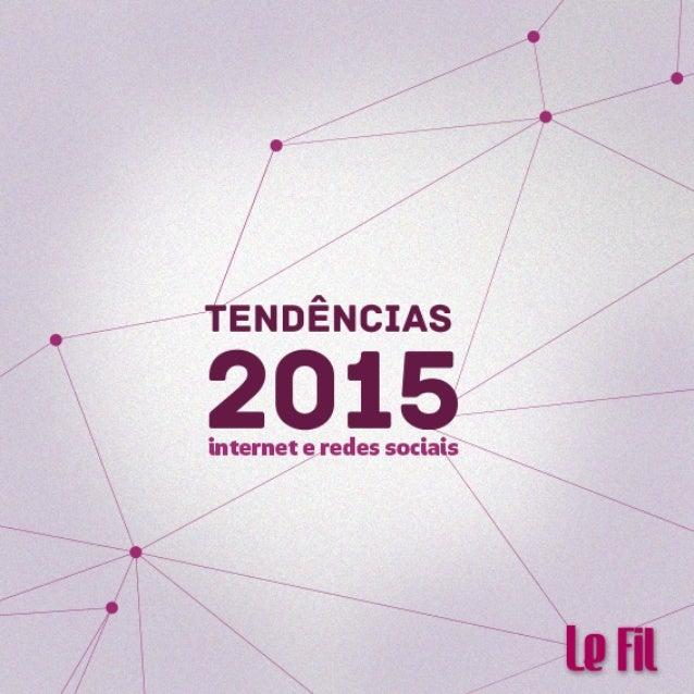 E-book Tendências para internet e redes sociais 2015