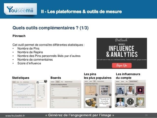 II - Les plateformes & outils de mesure     Quels outils complémentaires ? (1/3)     Pinreach     Cet outil permet de conn...