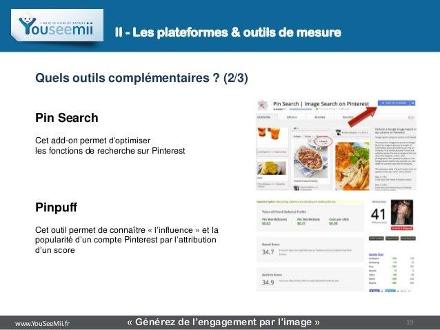 II - Les plateformes & outils de mesure     Quels outils complémentaires ? (2/3)     Pin Search     Cet add-on permet d'op...