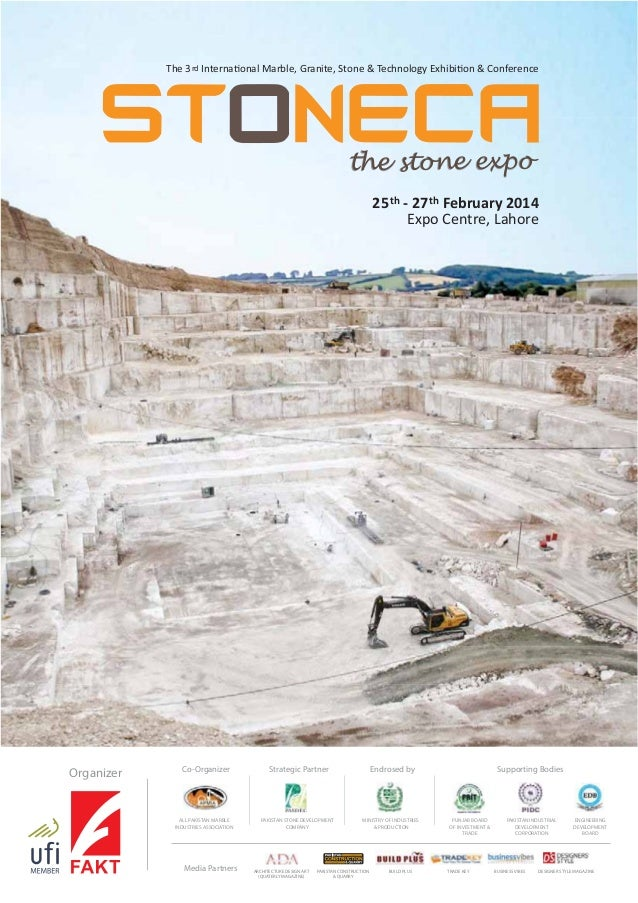 The 3 rd Interna onal Marble, Granite, Stone & Technology Exhibi on & Conference  the stone expo 25 th - 27 th February 20...