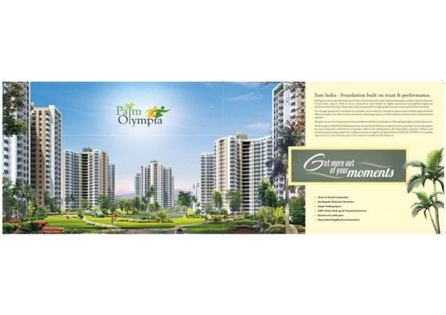 E brochure Palm Olympia Project Noida Extension