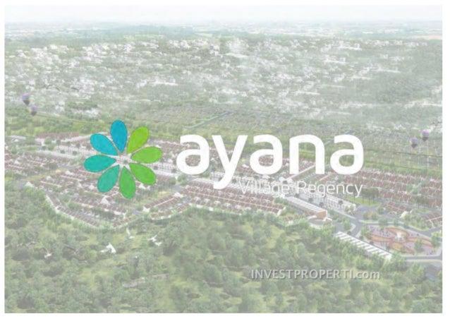 e-Brochure Ayana Village Regency Tigaraksa Tangerang