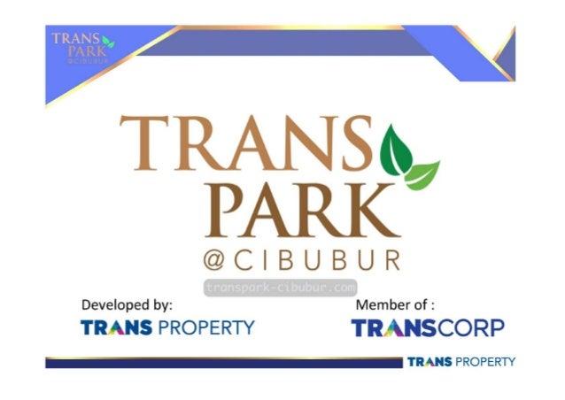 e-Brochure Trans Park Cibubur