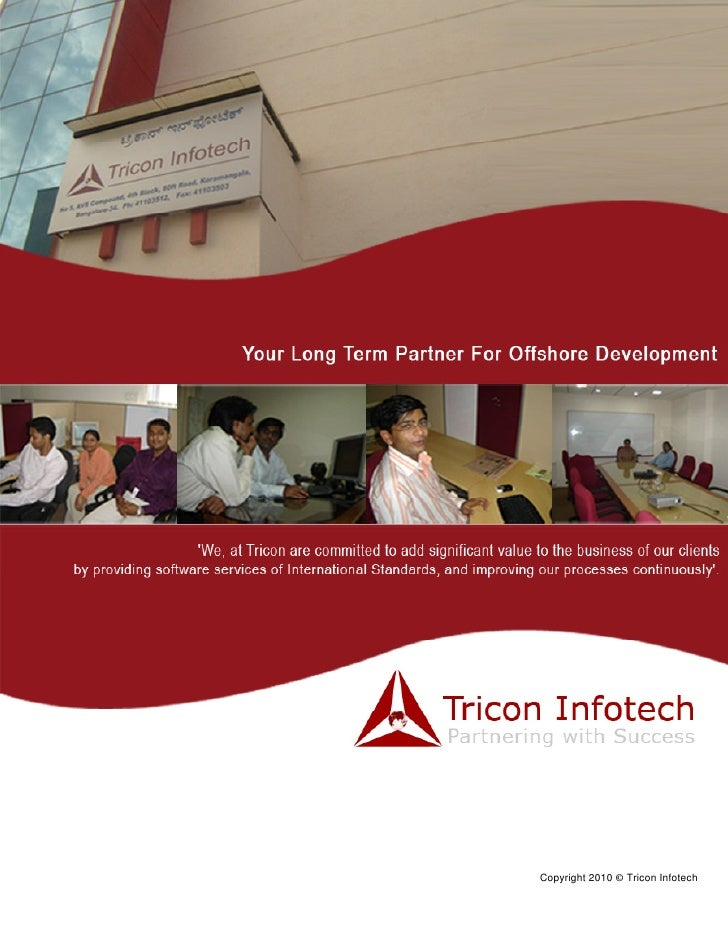 www.triconinfotech.com                        Quality, Commitment, Integrity     COMPANY PROFILE                          ...