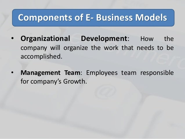e business model The article explains you important differences between e-commerce and e-business in tabular form and points e-commerce includes transactions which are related to.