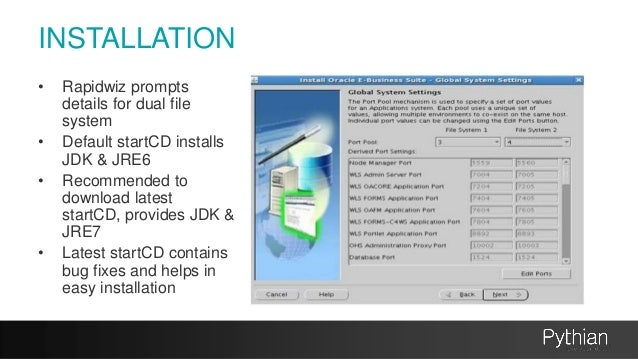 E business suite r12 2 changes for database administrators