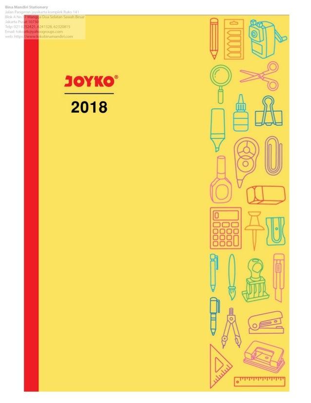 E catalog Alat Tulis Kantor & Perlengkapan Sekolah joyko-2018
