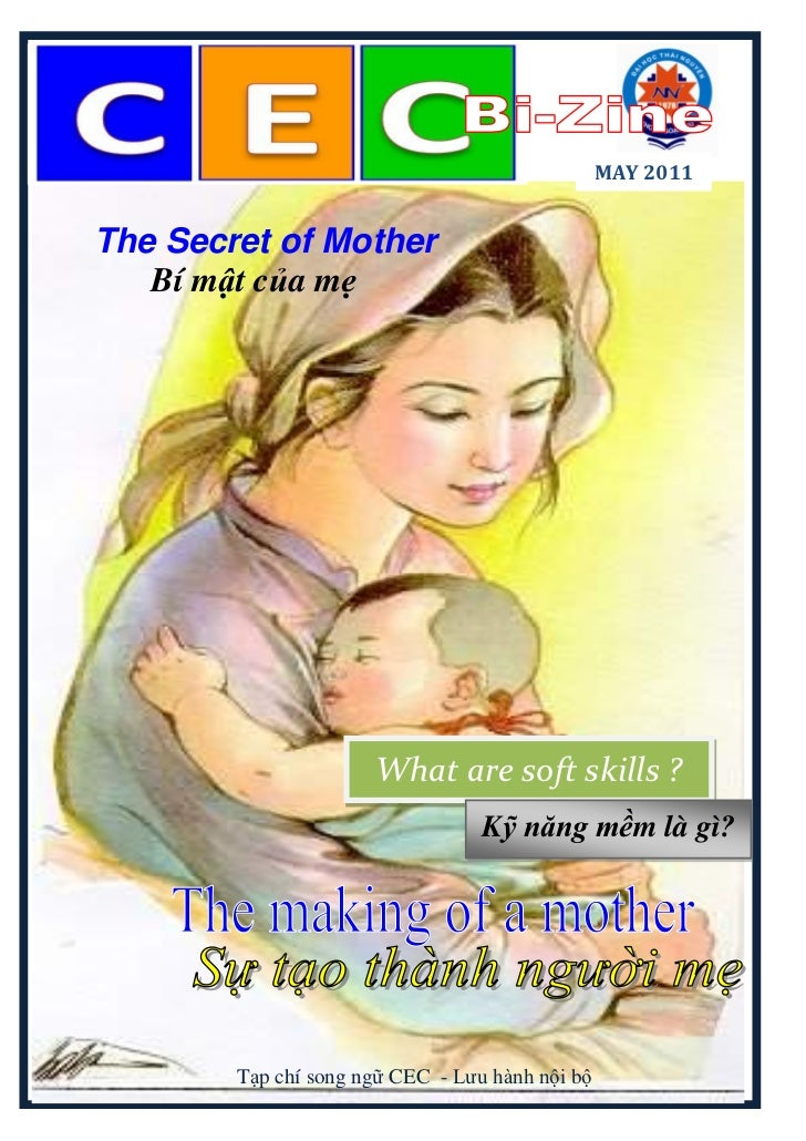 MAY 2011The Secret of Mother   Bí mật của mẹ                      What are soft skills ?                                  ...