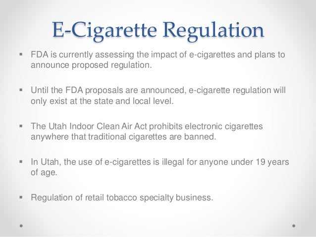 Long Term Effects Of Smoking >> E-cigarettes: Untested & Unproven
