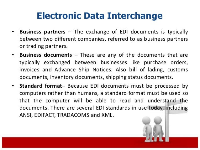 what is the difference between a electronic data interchange and a electronic funds transfer The benefits of electronic funds transfer  payment-related information can be sent along with ach transactions, a process known as electronic data interchange, or .