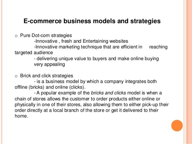 E-commerce ppt.
