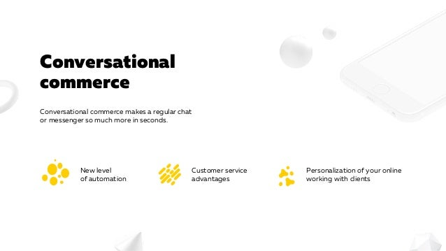 Bots in E-commerce Slide 2