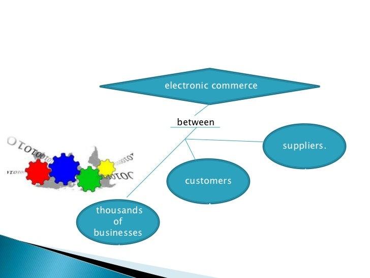 electronic commerce               between                                   suppliers.                 customersthousands ...