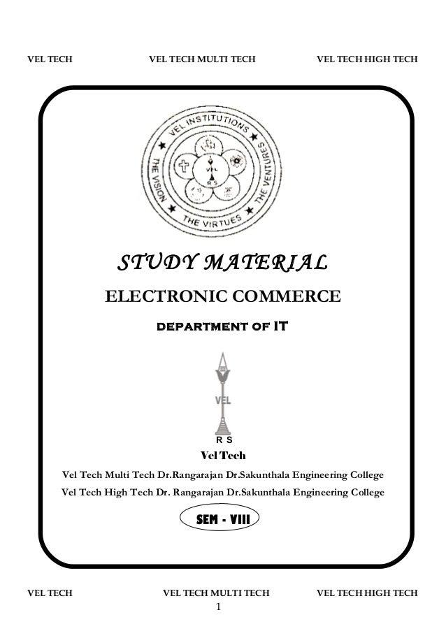 VEL TECH                VEL TECH MULTI TECH               VEL TECH HIGH TECH                 STUDY MATERIAL              E...