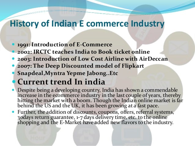 a brief history of e commerce information technology essay We will write a custom essay sample on computerized auditing  to give a brief history of auditing in a cis environment  of the internet and e-commerce have had .