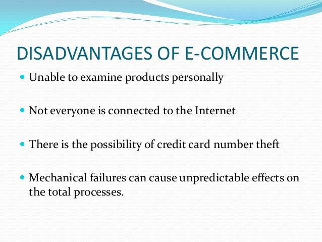 what is the scope limitations and benefits of e commerce A constraint, in project management, is any restriction that defines a project's limitations the scope, for example, is the limit of what the project is expected to accomplish project constraints are also considered to be somewhat mutually exclusive in the project management triangle, it is.