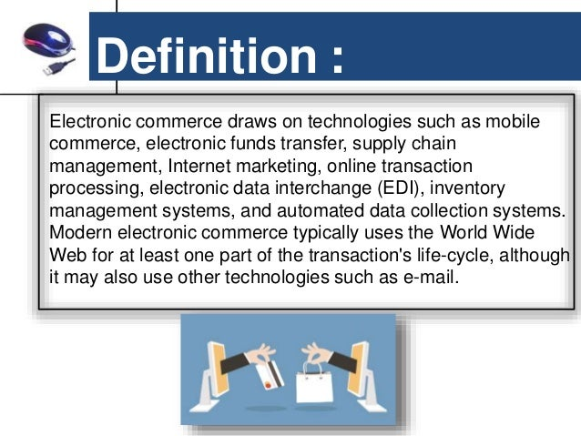 Electronic trading system meaning