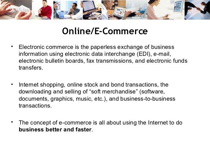 E-commerce Business Models and Concepts PowerPoint Presentation, PPT - DocSlides