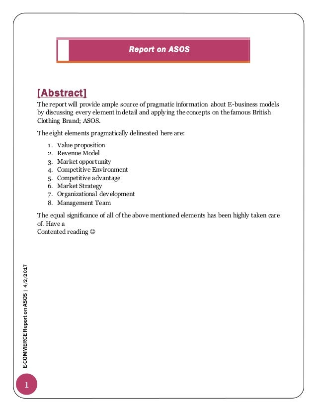 strategic management asos Company analysis of asos  analyse the key strategic decisions made by the company  business management skills: includes planning, decision-making, marketing .