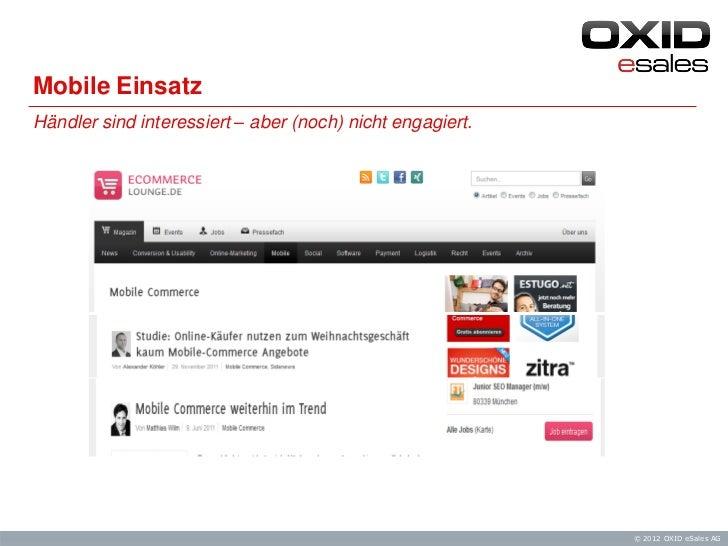 Screw it, let's do it — Praxisbeispiele für Mobile Shops und Facebook Einsatz Slide 2