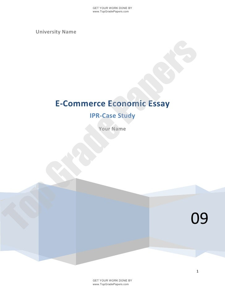 Dissertation e commerce