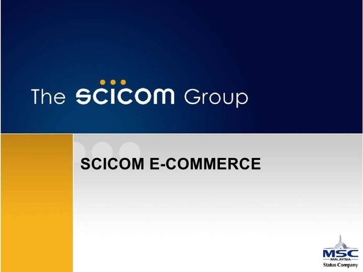 SCICOM E-COMMERCE