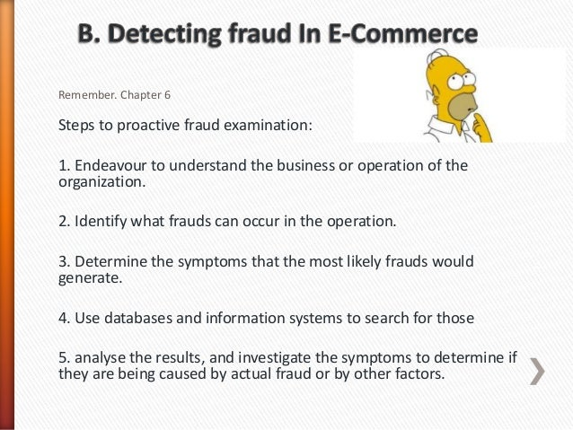 e commerce fraud essay Let us write or edit the essay on your topic technical report: security for credit card fraud in e-commerce by using geo-location with a personal 20% discount grab the best paper extract of sample technical report: security for credit card fraud in e-commerce by using geo-location.