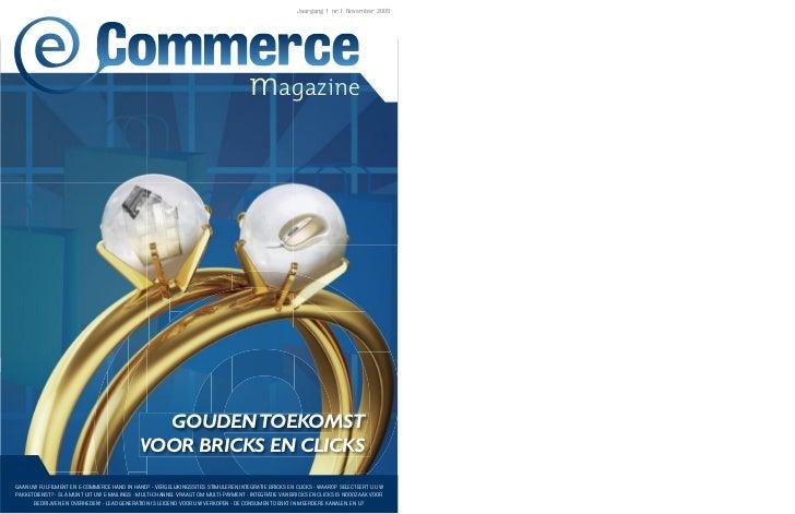 Jaargang 1 nr.1 November 2009                                                                                    magazine ...