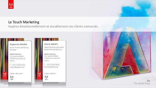 Le Touch Marketing  Inspirez émotionnellement et durablement vos clients connectés  Olivier BINISTI  Digital Marketing Spe...