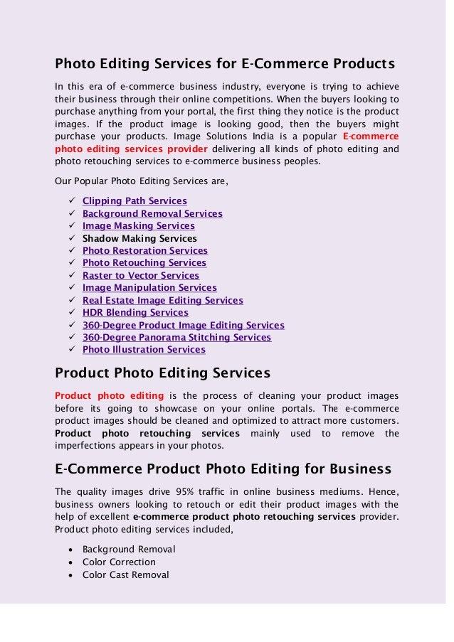 photo retouching service. the level: