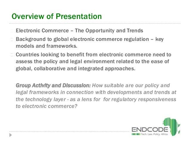 E-commerce regulation pria chetty Slide 2