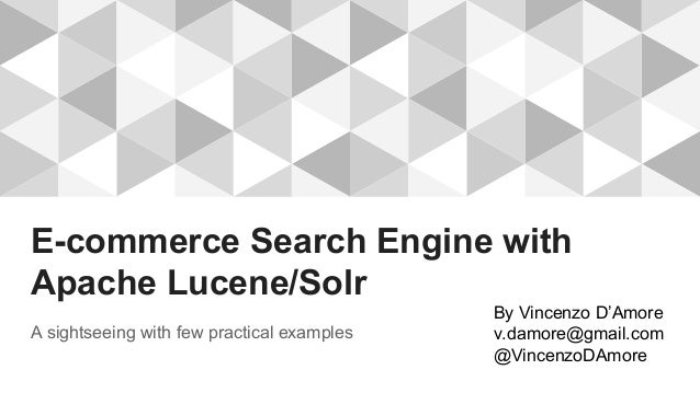 Lucene And Solr The Definitive Guide Pdf