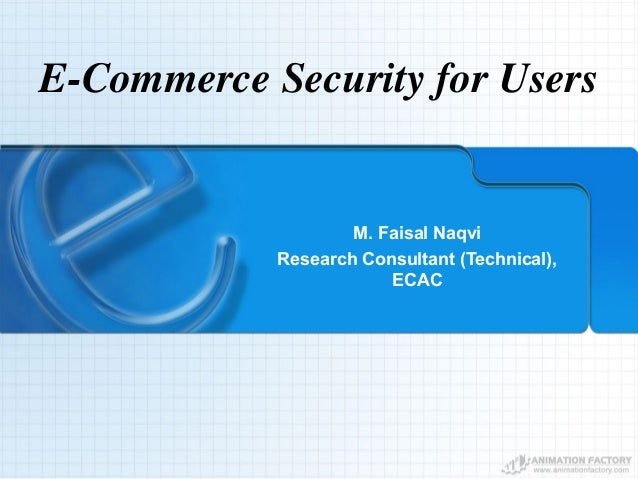 E Commerce Security For End Users