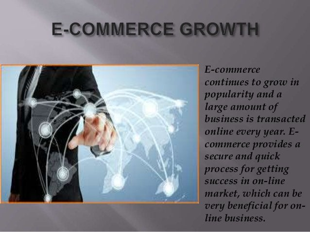 E-commerce continues to grow in popularity and a large amount of business is transacted online every year. E- commerce pro...