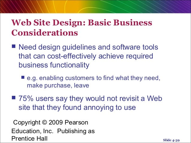 analysis and design of e commerce system This paper reports on a study and comparison of two techniques and notations suitable for the analysis and design of web-based electronic commerce (ecommerce) applications some of the challenges facing developers of webbased e-commerce applications are identified, examined and discussed .